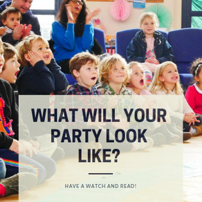 A year in review! Some of the best children's parties from 2018.