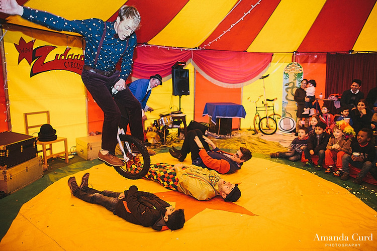 circus performer for kids party