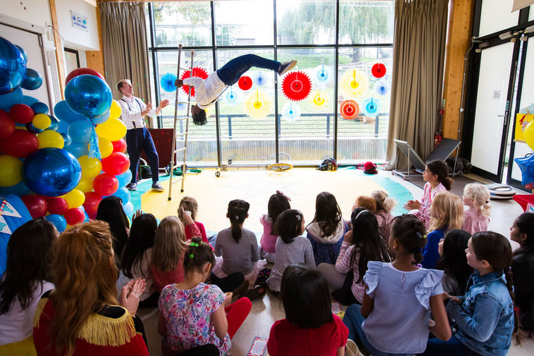 Circus Theme Kids Party