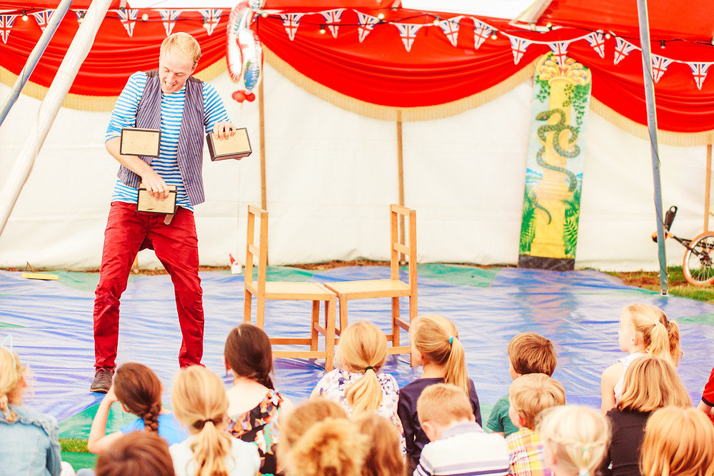 children's entertainers for circus party