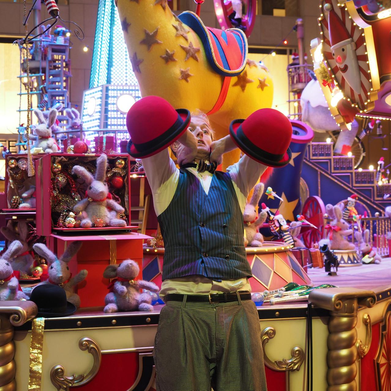 Professional circus performer