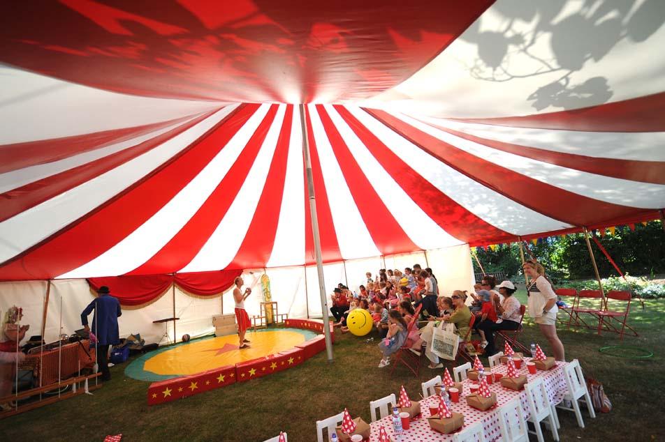 amazing circus party