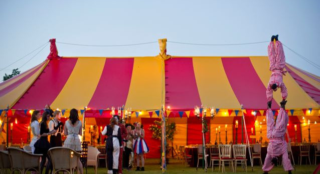 Authentic Circus Party - Big Top Hire