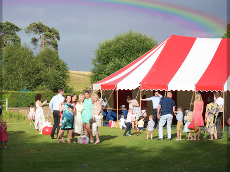Wedding entertainment - circus performers and lots of fun!
