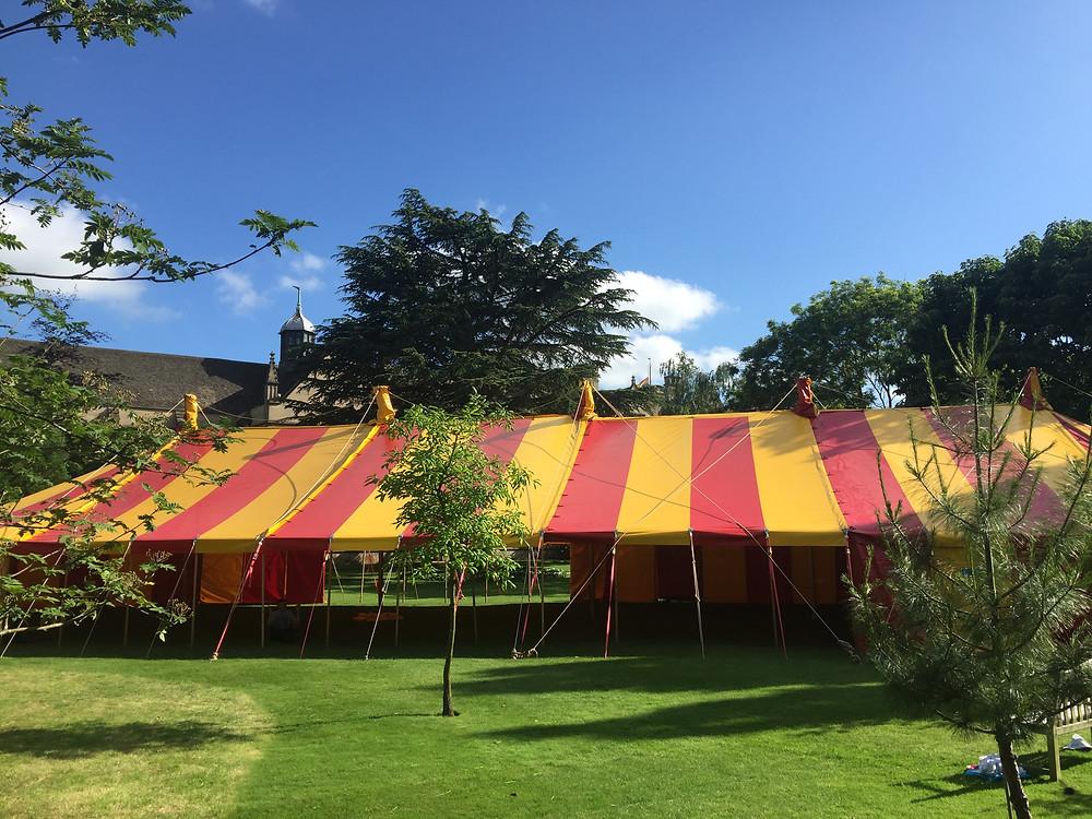 Oxford University Ball Circus Theme