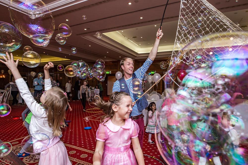 bubble kids party