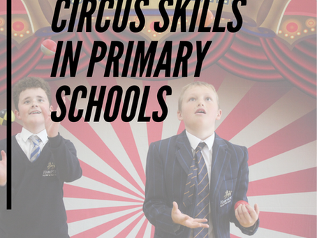 Amazing Circus Skills workshop for schools in Staffordshire and The Midlands.