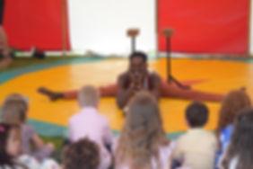 acrobat childrens entertainer