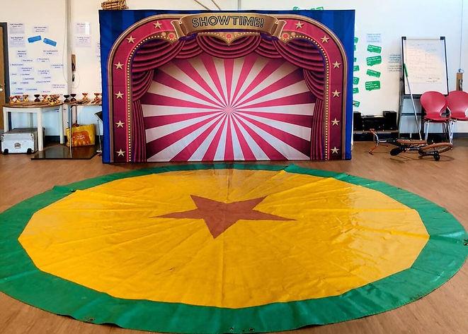 circus skills workshop school london