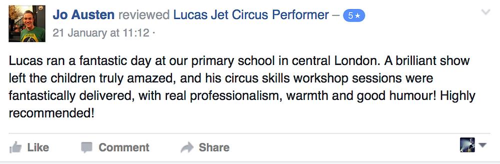Primary School Circus Days