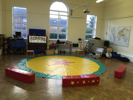 Bristol primary school circus workshop