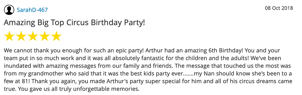 Children's Party Entertainer | Circus Theme Party | Kids Party Entertainer