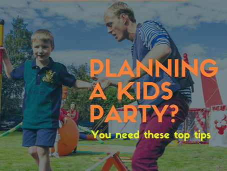 How can I plan the best birthday party for my kids?