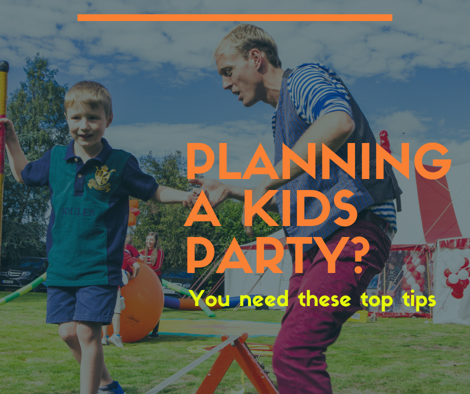 Planning a Kids Birthday Party   Top Tips