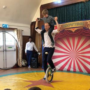 Circus Theme Children's Parties in Berkshire
