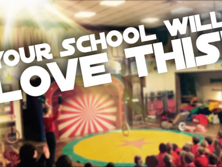 Did you know we also specialise in school circus shows and circus skills workshops!