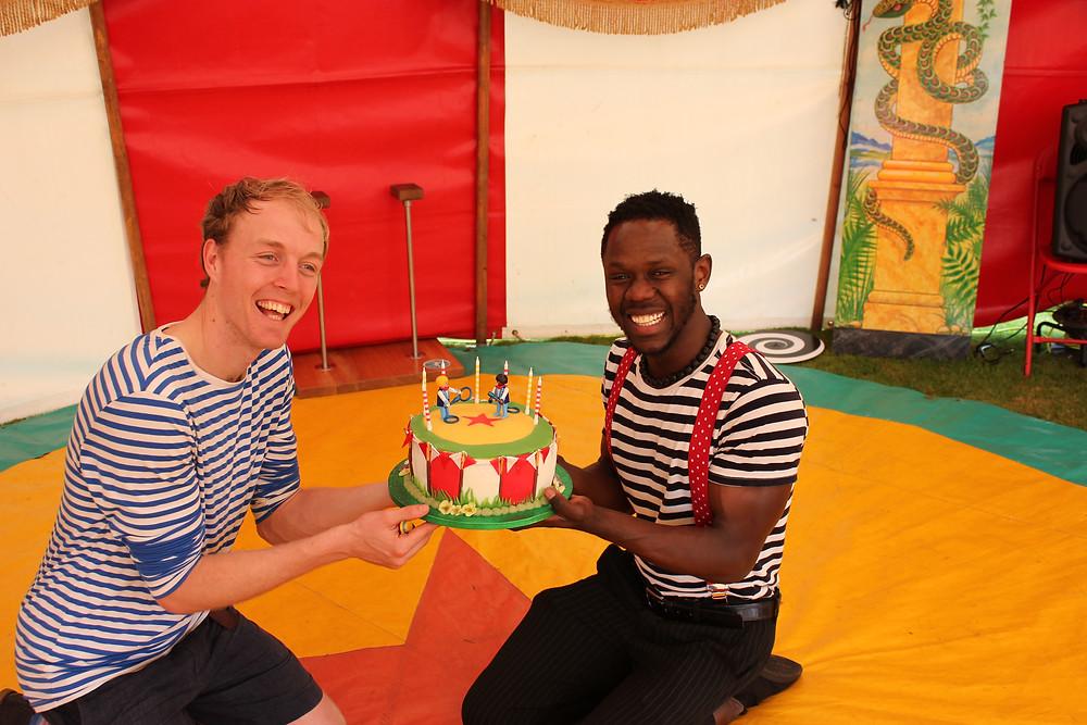 Circus Party Birthday Cake