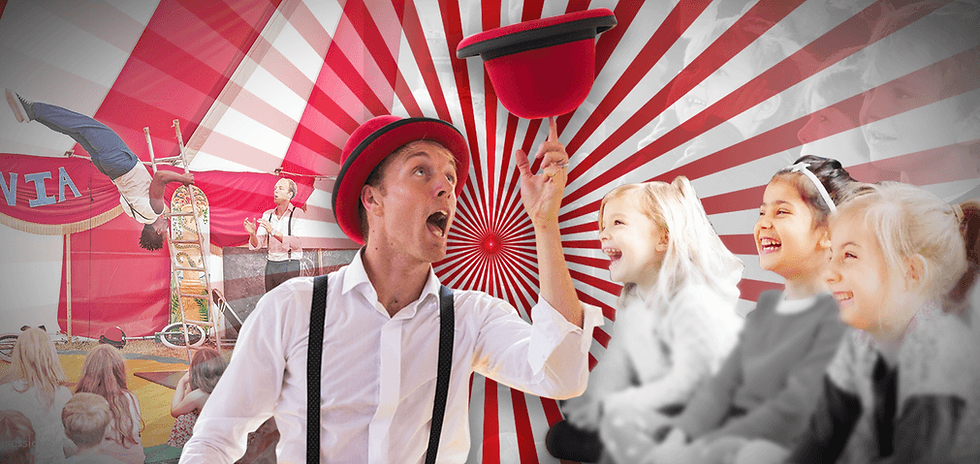circus skills workshops for primary schools with Lucas Jet