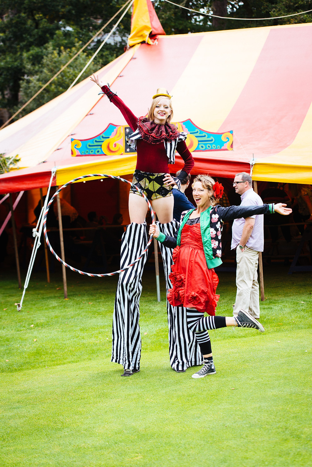 Circus performers for your event