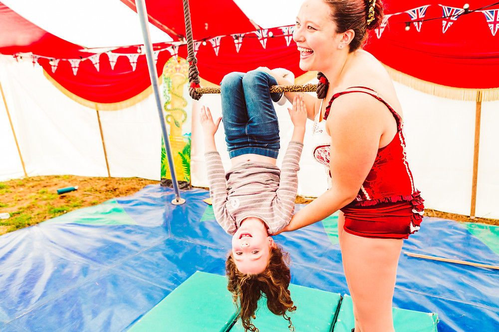 aerial trapeze lessons for kids parties