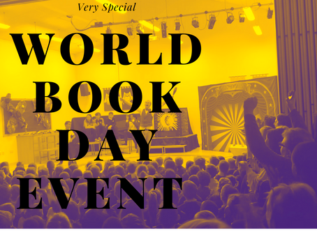 World Book Day 2020 - How to hold a school event that changes the way children feel about books!