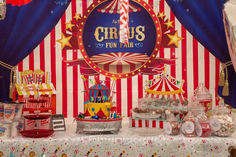 Circus Food Party Inspiration