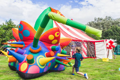 Garden party ideas for children and family events.