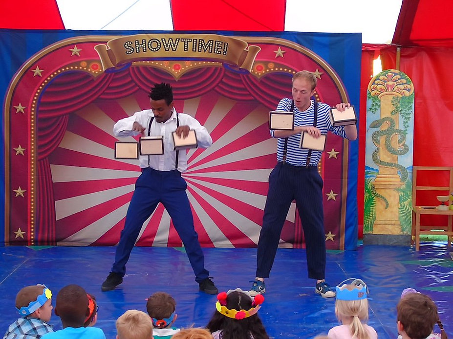 circus skills workshop providers for primary schools UK