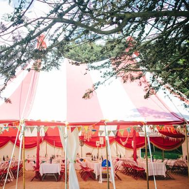 Orchard Wedding Tent