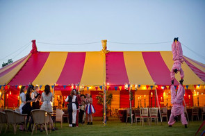 Circus Theme Party Tent