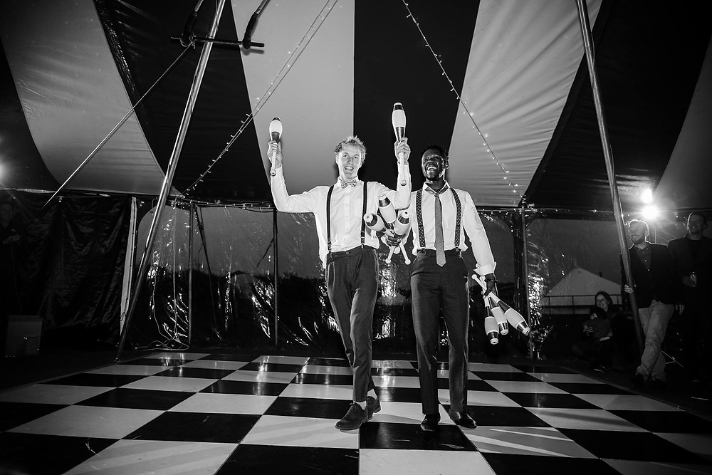circus performers for wedding entertainment