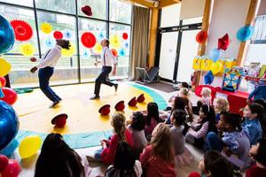 Hat Juggling Tricks in Dulwich
