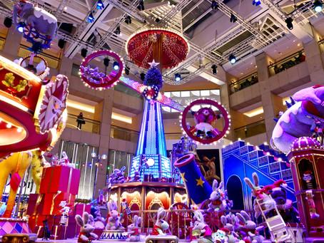 Hong Kong - Christmas Circus Mall Entertainment
