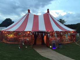 21st birthday circus theme