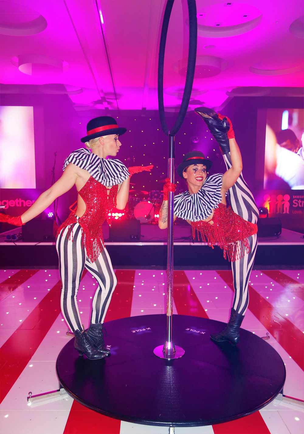 circus performers for hire