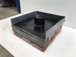 lead chimney tray