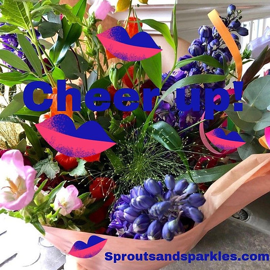 Bouquet of the week - cheers and cheer up