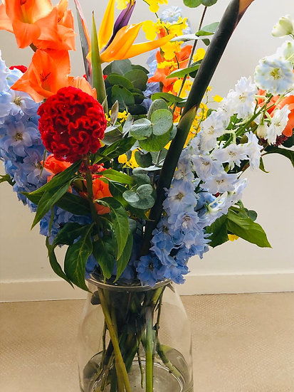 Bouquet of the week - colour explosion