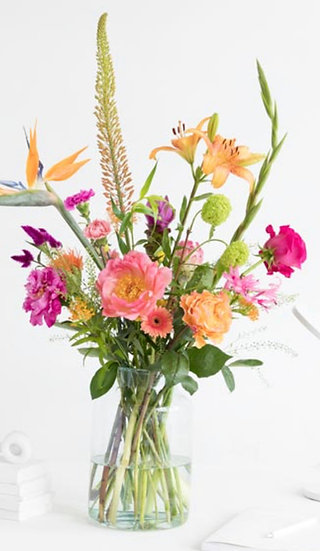 Bouquet of the week - Tropical treasures