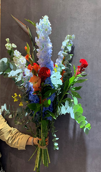 Bouquet of April 29 - colour explosion
