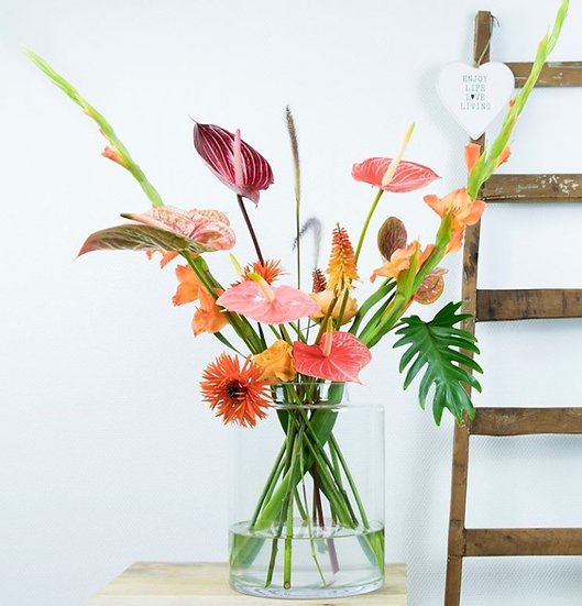 Bouquet of the week - Tropical party