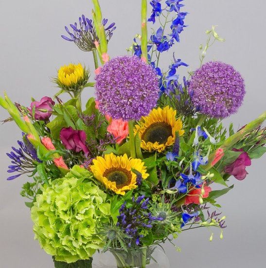 Bouquet of the week - Sunny side up