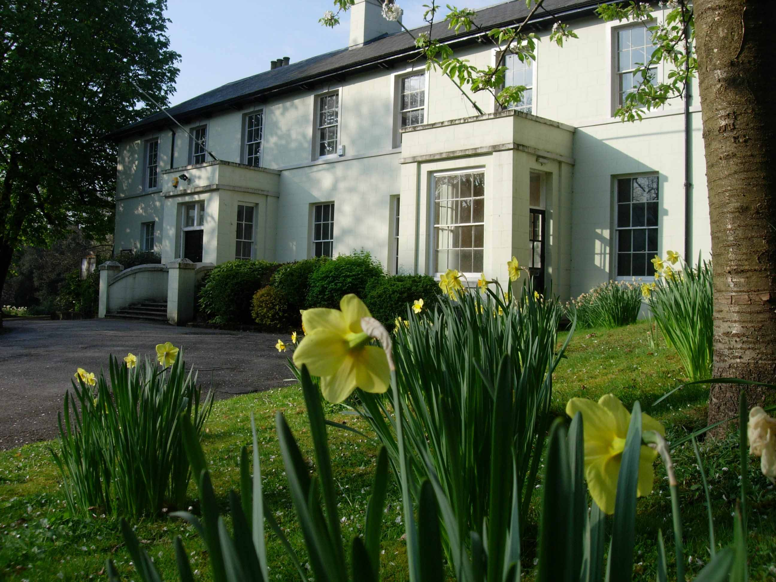 Bedwellty House in Spring