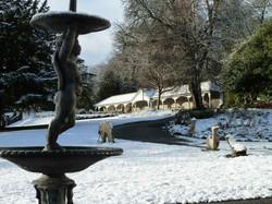 Bedwellty Park in Winter