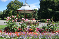 Bandstand in bloom