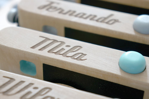 Wooden Toy Camera personalisation | Name engraving
