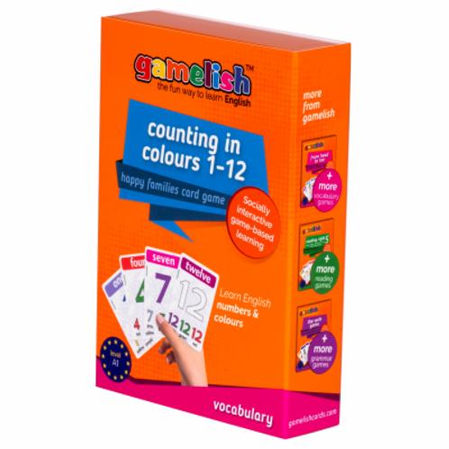 רביעיות בצבעים - משחקים לרכישת אוצר מלים בסיסי באנגלית