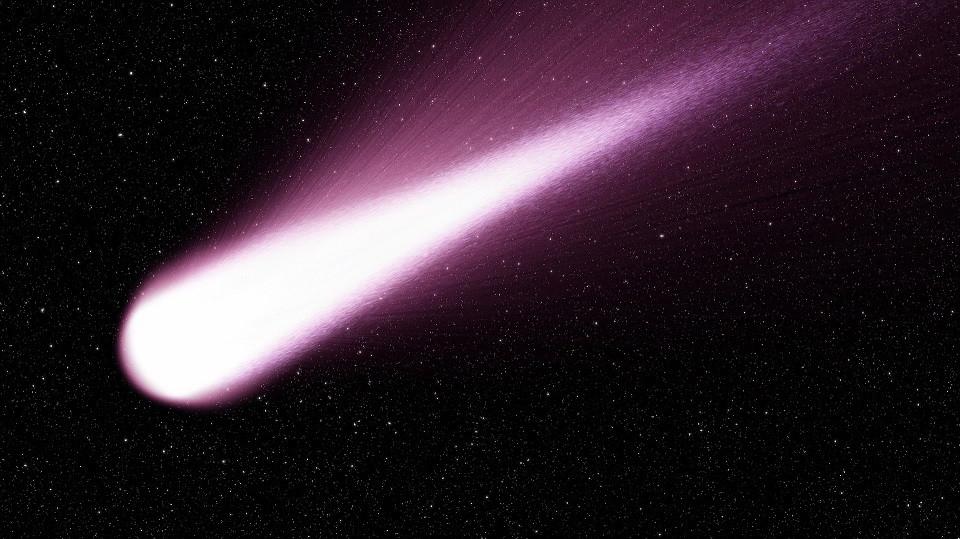 כוכב שביט בחלל