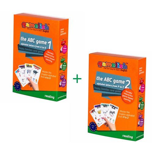 משחק האותיות - משחק להכרת האותיות באנגלית