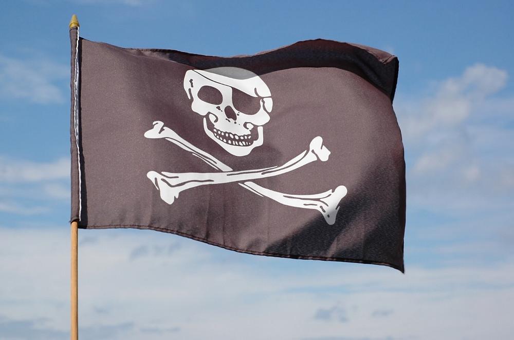 דגל ספינת פירטים